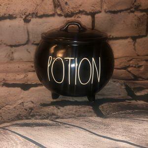 """NWT Rae Dunn Small """"Potion"""" Cauldron"""